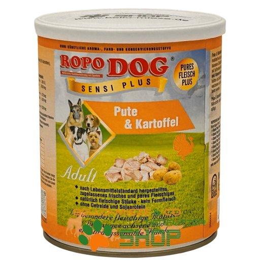 RopoDog Adult Sensi Plus Pute & Kartoffel