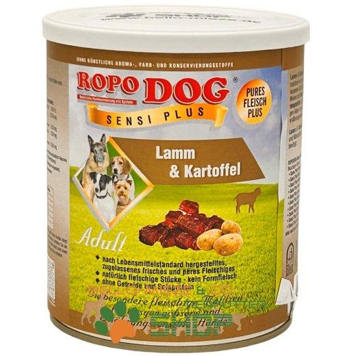 RopoDog Adult Sensi Plus Lamm & Kartoffel 400 gr