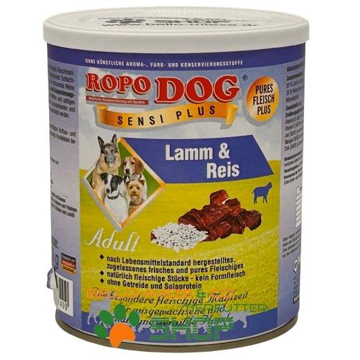 RopoDog Adult Sensi Plus Lamm & Reis