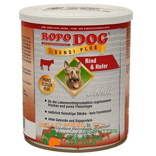 RopoDog Adult Sensi Plus Rind & Hafer 400 gr
