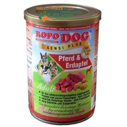 RopoDog Adult Sensi Plus Pferd & Erdapfel