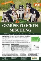LuCano Gemüseflocken Mix | Hunde BARF Ergänzung
