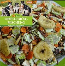 LuCano Obst + Gemüseflocken Mischung | Hunde BARF...