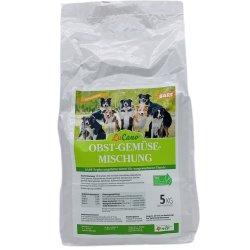 LuCano Obst + Gemüseflocken Mischung | Hunde BARF Ergänzungsfutter | getreidefrei 10 kg