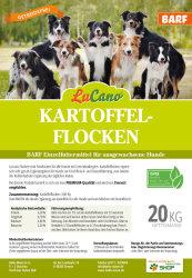 LuCano Kartoffelflocken pur | BARF Ergänzung für Hunde