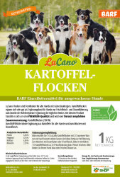 LuCano Hunde Kartoffelflocken   Ideal zum BARFEN 10 kg