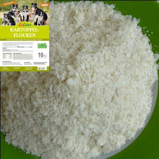 LuCano Kartoffelflocken für Hunde | Ideal zum BARFEN 1 kg