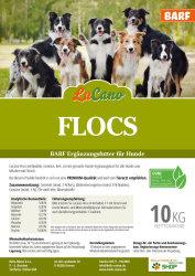 LuCano Flocs - Hunde BARF Mais Flocken Mixer | Ergänzungsfutter 15 kg