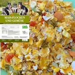 LuCano Mais Flocken + Gemüse - Hunde BARF   Flocken...