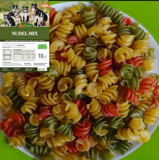 LuCano Nudel - Mix   BARF Ergänzungsfutter für alle Hunde / mit Spinat und Karotten