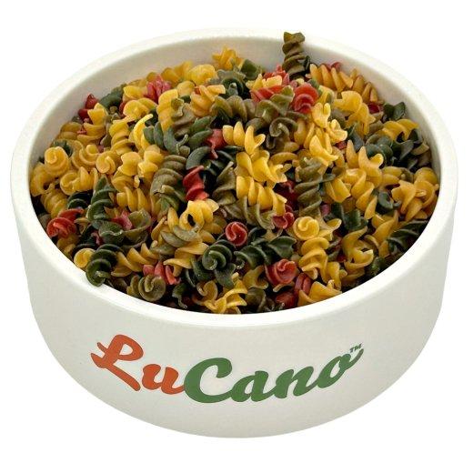 LuCano Nudel - Mix   BARF Ergänzungsfutter für alle Hunde / mit Spinat und Karotten 10 kg