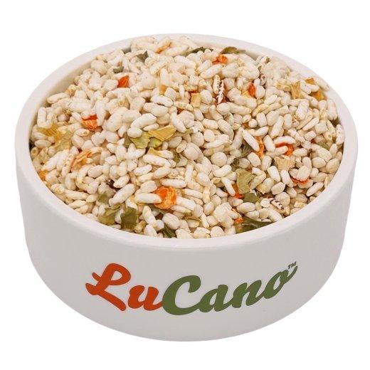 LuCano Reis - Gemüse Mix | ( Reispops, gepufft ) BARF Ergänzungsfutter