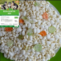 LuCano Reis - Gemüse Mix | ( Reispops, gepufft )...
