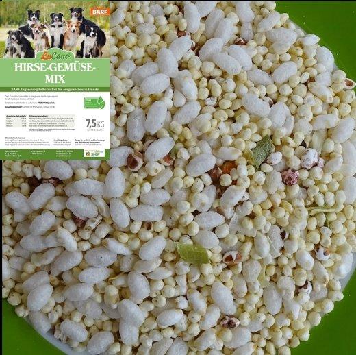 LuCano Hirse Gemüse Mix   BARF Ergänzungsfuttermittel 1 kg