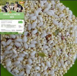 LuCano Hirse Gemüse Mix | BARF Ergänzungsfuttermittel 7,5 kg