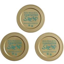 1 Dosendeckel 73 mm passend für 200 gr. + 400 gr. Dosen