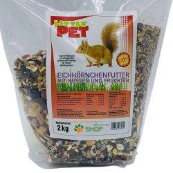 Little Pet Eichhörnchen Futter | Komplettmischung...